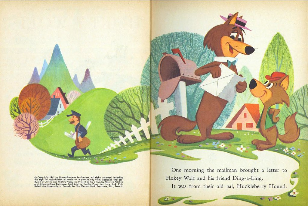 Hokey Wolf & Ding-a-Ling Featuring Huckleberry Hound003