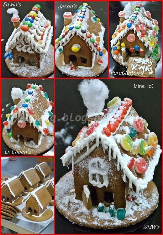Decorated Ginger Bread House