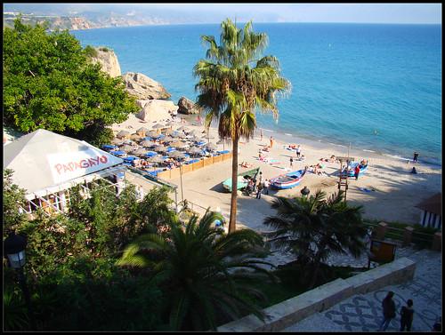Playa de Calahonda, Nerja