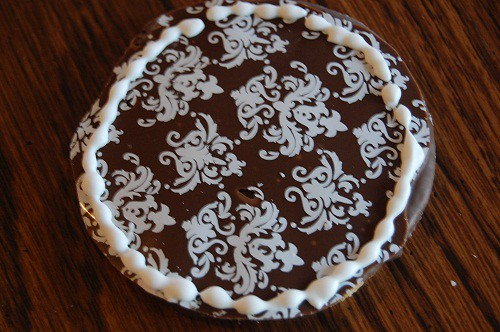 Ladies' Night Cookies in Chocolate Damask