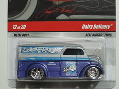 Larry's Hot wheels Garage Dairy Delivery (Jose Michael S. Herbosa) Tags: hotwheels dd realriders dairydelivery 2011hotwheels