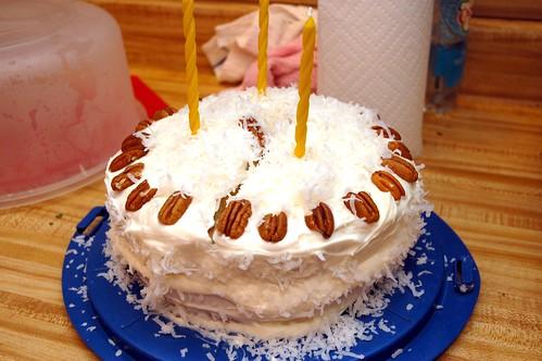 Cracked Cake