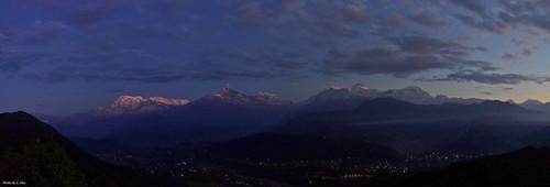 Sarangkot - sunrise (Pokhara)
