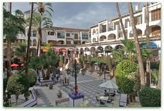 Villamartin Plaza (Shirl581) Tags: plaza costa golf palms square spain restaurants alicante blanca cafes torrevieja villamartin