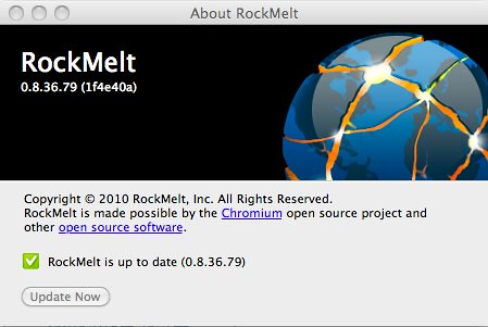 About RockMelt
