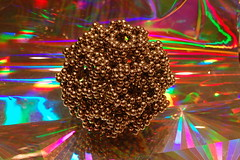 Inverse Hexagonal Dodecahedron (jasonbbb711) Tags: ball toy earth magic balls magnets structure puzzle sphere zen to instructions how dots stellated nano companion nib magnet spheres rare tutorial bucky icosahedron dodecahedron instructional buckyball buckyballs neodymium shapeshifting stellate ndfeb neocube cybercube zenmagnets nanodots