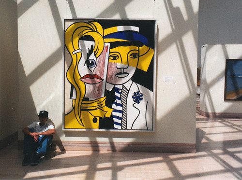 Roy Lichtenstein - Stepping Out