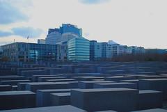 Jewish Memorial, Berlin (BenjaminWeston) Tags: berlin architecture germany memorial europe capital german jewish germans
