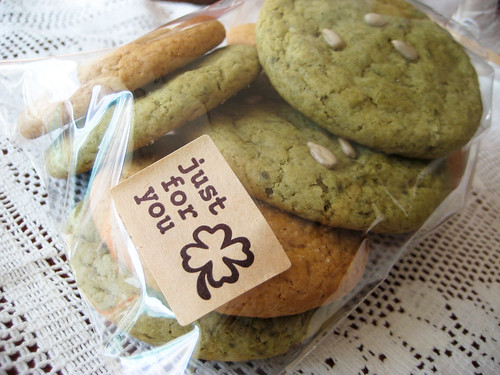 Green Tea & Ginger Molasses Cookies