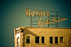 Wilshire Royale Hotel (TooMuchFire) Tags: 1920s signs typography la losangeles neon type artdeco hotels lettering koreatown typeface neonsigns macarthurpark midwilshire lightroom oldsigns vintagesigns oldhotels vintagesignage canon30d hotelsigns wilshireroyale wilshirecorridor oldhotelsigns oldneonsigns wilshireroyalehotel artdecolosangeles wilshireroyaleapartments howardjohnsonwilshireroyale