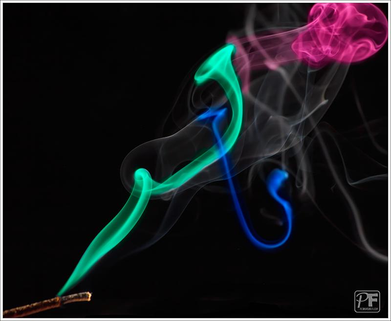 Las trompetas de la muerte - jugando con humo
