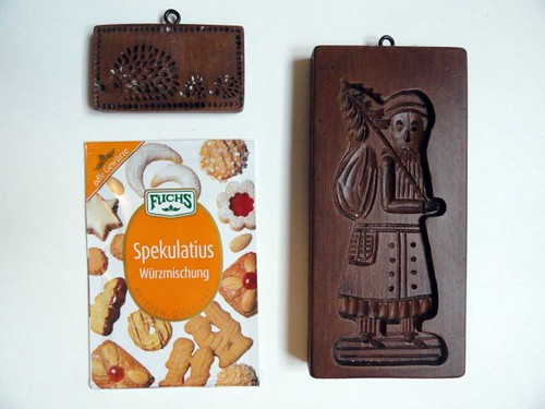 Speculoos Spices and molds