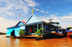 Chong Khneas – The Tonlé Sap Lake Floating Village