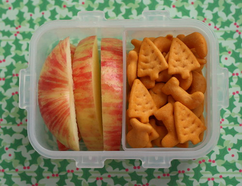 Lock & Lock box Christmas snack