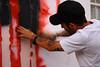 ´danier` stencil copo americano Rua José Basseto