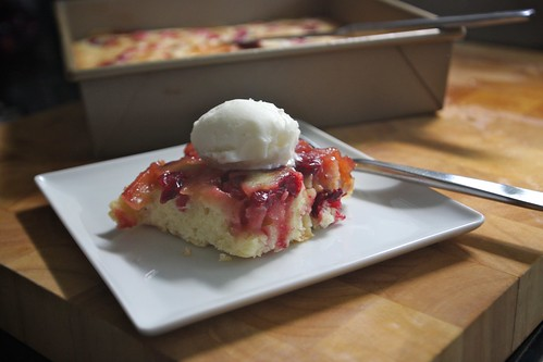 easy cranberry apple cake