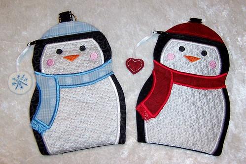 Penguin Zipper Cases