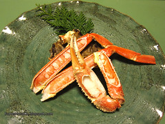 Cena - Granchio alla brace