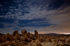 storm is coming (Eric 5D Mark III) Tags: california longexposure sky cloud night canon landscape star nationalpark desert joshuatree midnight moonlight thunderstorm campground whitetank ef1635mmf28liiusm eos5dmarkii