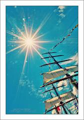 NRP Sagres III @ Nagasaki (Vincent_AF) Tags: sky cloud sun up japan clouds photography boat photo raw ship foto fotografie flag sunny flags lookup cc photograph creativecommons sail sunburst nippon tall af sunrays nagasaki hdr sagres flickrphoto 6xp setsail flickrimage hdrfromasinglerawfile flickrphotography afphotography vincentvanderpas archetypefotografie nrpsagresiii