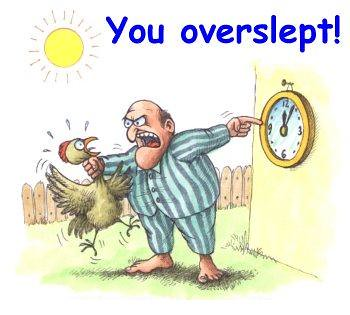 you_overslept