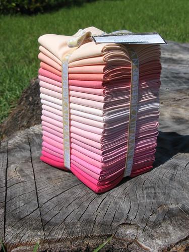 Pretty in Pink Kona Fat Quarter Bundle