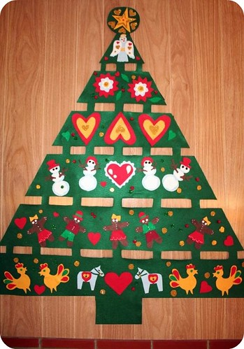 Felty Xmas Tree!