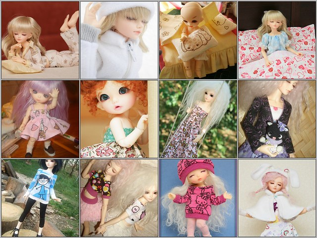 My Bjd Sewing 2010 (part 2)