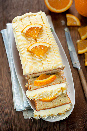 banana orange cake