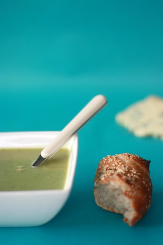 broccoli soup with stilton