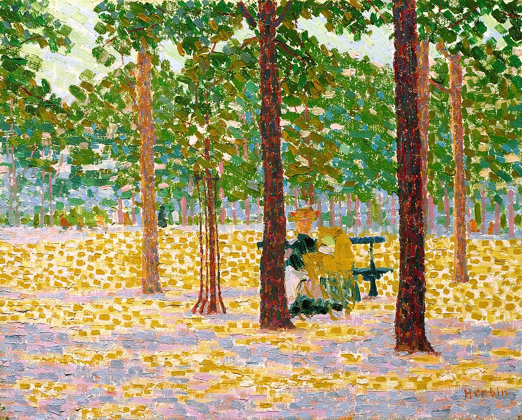 Herbin, Auguste (1882-1960) - 1904 Park in Paris (Indianapolis Museum of Art, Indiana, USA)
