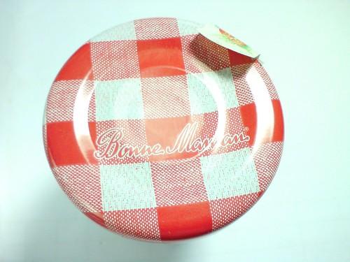 Bonne Maman草莓果醬蓋子DSC01729