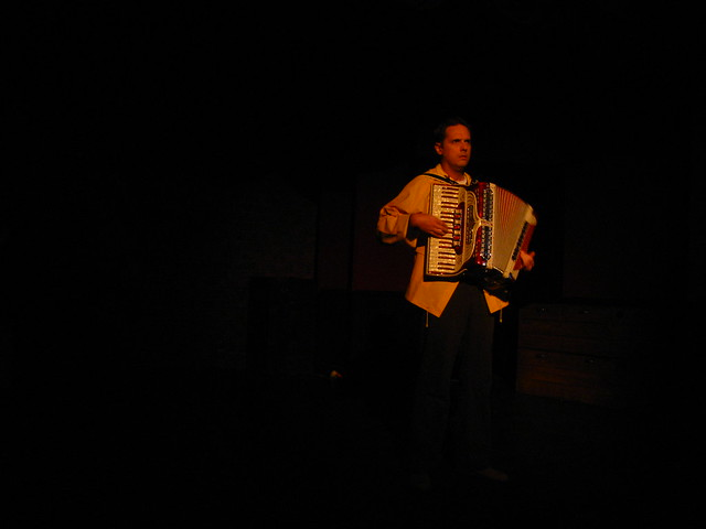 Obadiah (Eric Curtis Johnson) is haunted by his experiences at sea.