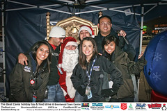 The BEAT CARES holiday food and toy drive at Brentwood Town Centre photos by Ron Sombilon Gallery (573)
