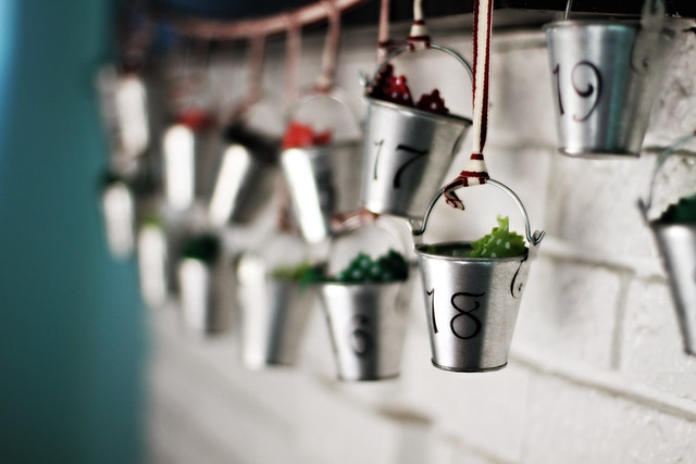 advent: a different kind of bucket list