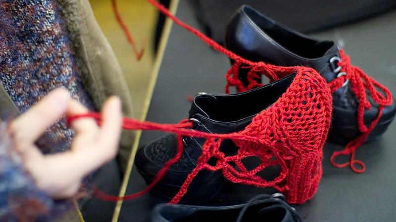 DIY crocheted heels Park&Cube 1