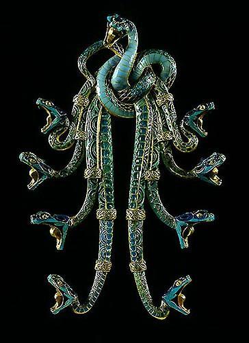 018- Pectoral de serpientes-Lalique 1898-1899-© 2008 Fundação Calouste Gulbenkian