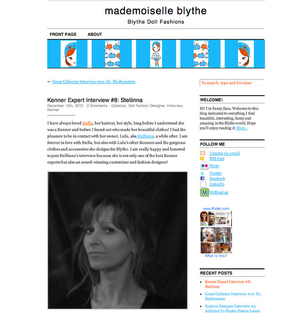 Mademoiselle Blythe's Interview