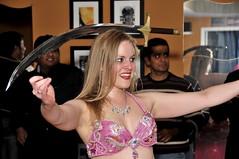 40th Birthday Party Belly Gram (MISS KISS Maddie) Tags: atlanta georgia bellydancer professional bellygram wwwmaddiebellydancercom