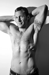 Christoph 07 (Violentz) Tags: light shadow shirtless portrait man sexy male guy handsome christoph