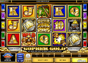 Gopher Gold slot game online review