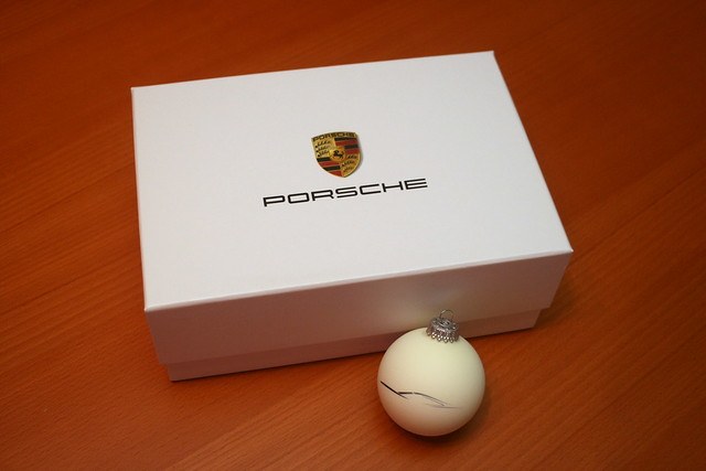 Porsche Christmas tree ornaments