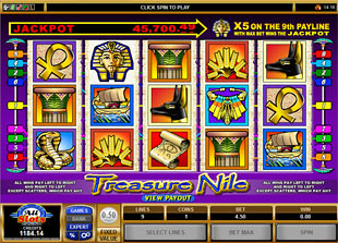 Treasure Nile slot game online review