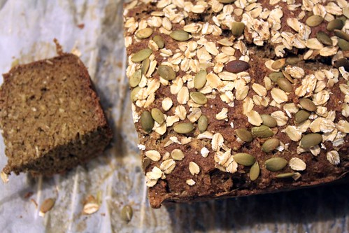 Oatmeal Pumpkinseed Bread