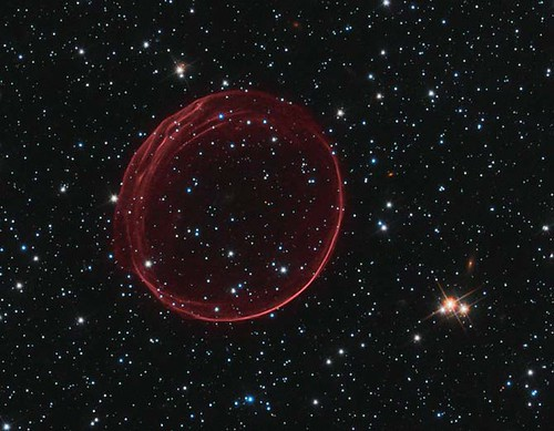 Hubble Supernova Bubble
