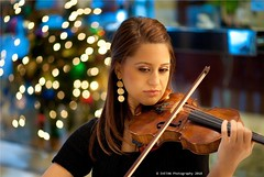 BACH TUNES & X-MAS BOKEH (Marquisa -) Tags: xmas music interestingness nikon texas bokeh houston explore violin carol beautifulgirl iso3600 houstonheights explored svetlanavasiliadi russiantexas svetan svetanphotography svetanphoography russianviolinplayer  highighiso