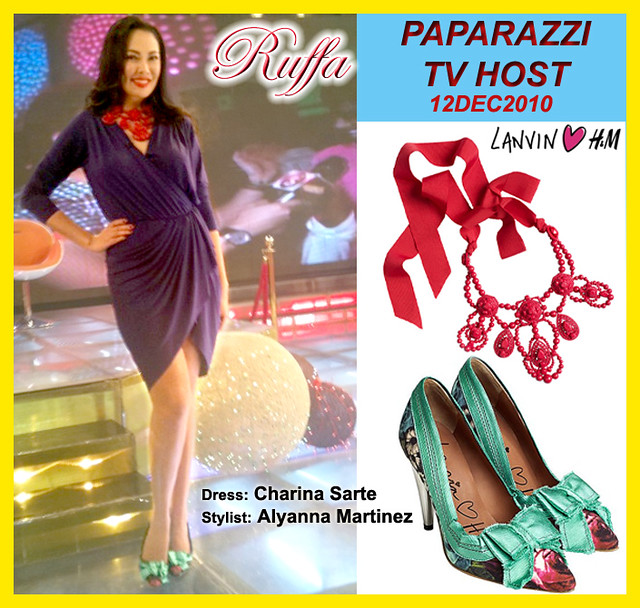 Ruffa Gutierrez in LANVIN for H&M - Paparazzi 12DEC2010 by MsRuffa