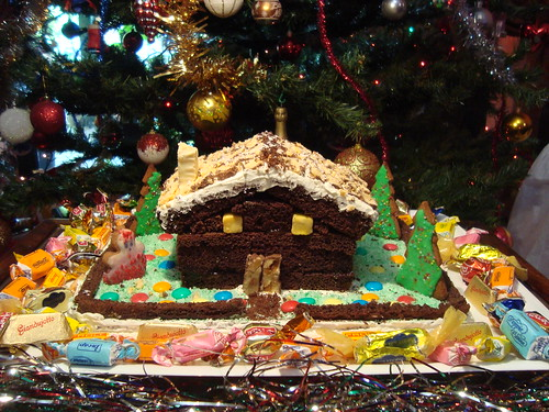 Casetta Di Natale Di Cioccolato : Cenerentola in cucina casetta di natale al cioccolato