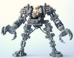 Exo Suit (Legoloverman) Tags: lego space hardsuit exosuit bley powerarmour