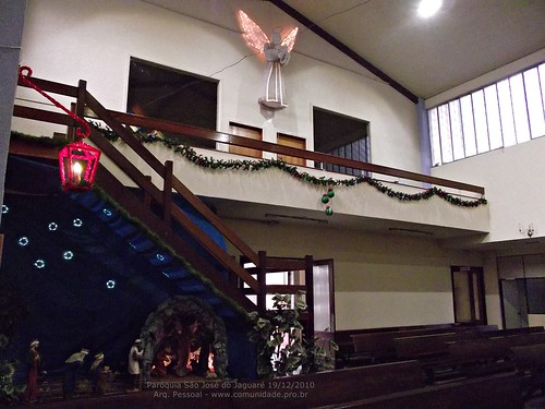 Paróquia São José do Jaguaré 19-12-2010